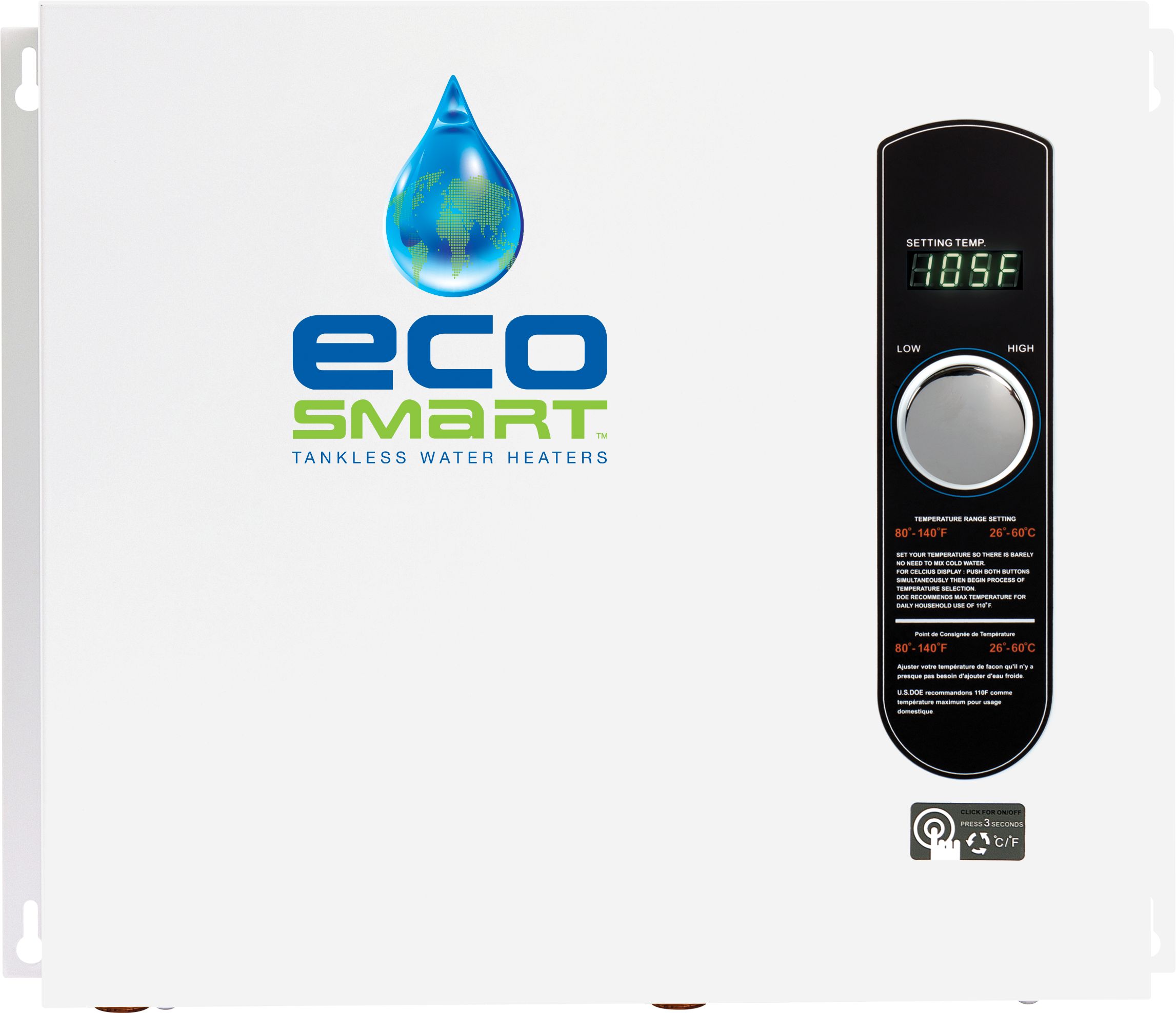 EcoSmart – Tankless Electric Water Heaters