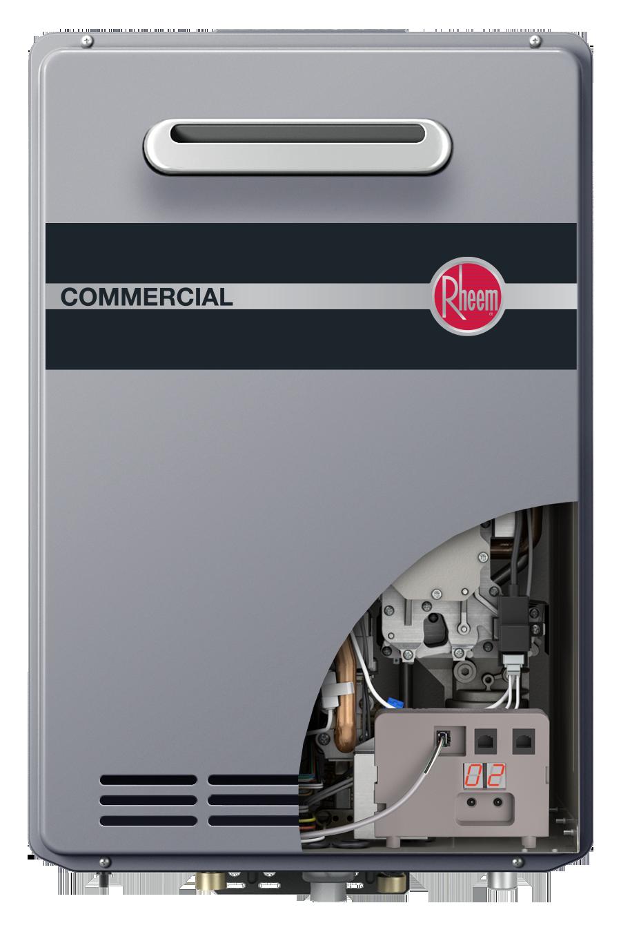 Rheem Commercial Condensing Tankless - Outdoor Translator ...