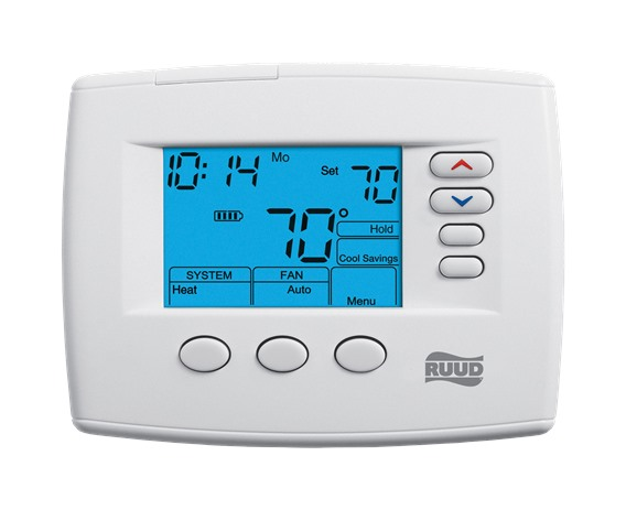 200 Series Programmable Thermostats Ruud Thermostats