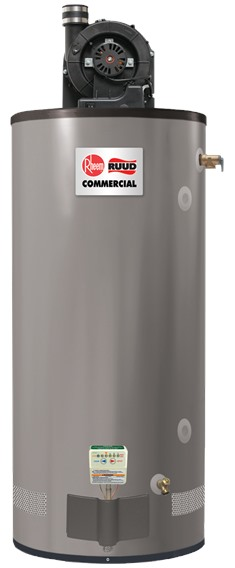 Powervent Ruud Commercial Gas Water Heaters