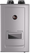 Professional Ultra Series: Condensing Tankless Gas Water Heaters with Built-in Recirculation